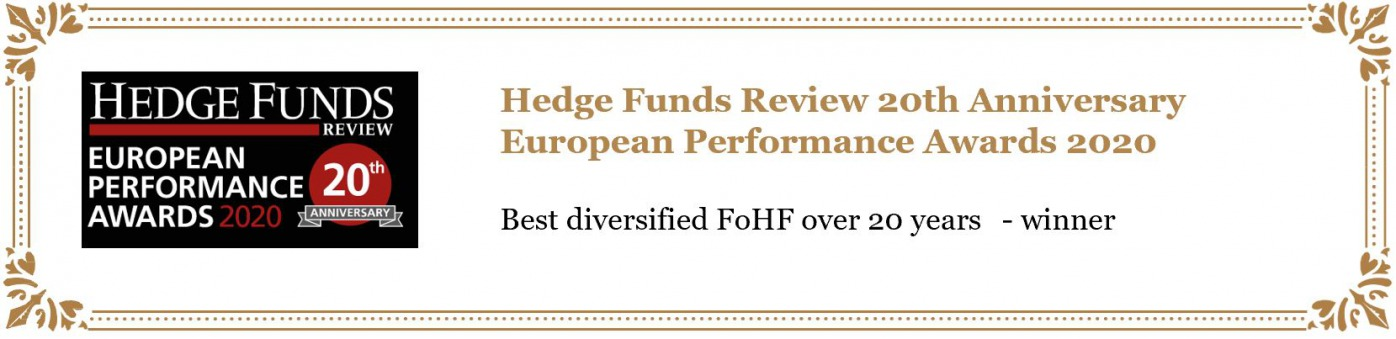 HEDGE FUNDS REVIEW The 15th Annual European Fund of Hedge Funds Awards 2015 Best specialist FoHF under $500m over 10 years nominee